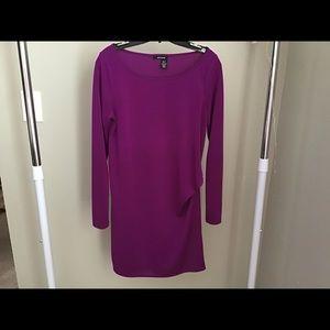 Dkny magenta dress